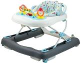 Bieco Baby Lauflernhilfe | 3in1 | Gehfrei Baby ab 6 Monaten | Baby-Walker | Spielcenter mit Aktivität & Melodien | Blau/Weiß| kippsicher | höhenverstellbar | Wippfunktion - 1