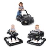 Bright Starts, 3 In 1 Lauflernhilfe, FORD F-150 RAPTOR, Schwarz, in 3 Varianten verwendbar, 2 Kinder können Gleichzeitig Spielen, wächst mit, Ab 6 Monaten - 1