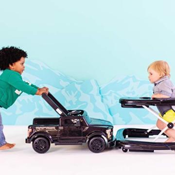 Bright Starts, 3 In 1 Lauflernhilfe, FORD F-150 RAPTOR, Schwarz, in 3 Varianten verwendbar, 2 Kinder können Gleichzeitig Spielen, wächst mit, Ab 6 Monaten - 3