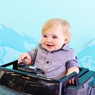 Bright Starts, 3 In 1 Lauflernhilfe, FORD F-150 RAPTOR, Schwarz, in 3 Varianten verwendbar, 2 Kinder können Gleichzeitig Spielen, wächst mit, Ab 6 Monaten - 6