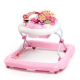 Bright Starts June Berry höhenverstellbare Lauflernhilfe mit abnehmbarem Spielzeug, Lichtern, Melodien, Lautstärkeregler, hoher Rückenlehne, Sicherheitsstopper - 1