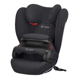 Cybex Silver Kinder-Autositz Pallas B-Fix, Für Autos mit und ohne ISOFIX, Gruppe 1/2/3 (9-36 kg), Ab ca. 9 Monate bis 12 Jahre, Volcano Black - 1
