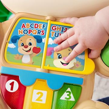 Fisher-Price FRC83 - Lernspaß Hündchens Lauflernwagen und Baby Lauflernhilfe mit mitwachsenden Spielstufen, Liedern und Sätze, Gehhilfe ab 6 Monaten, deutschsprachig - 13