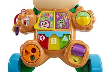 Fisher-Price FRC83 - Lernspaß Hündchens Lauflernwagen und Baby Lauflernhilfe mit mitwachsenden Spielstufen, Liedern und Sätze, Gehhilfe ab 6 Monaten, deutschsprachig - 4