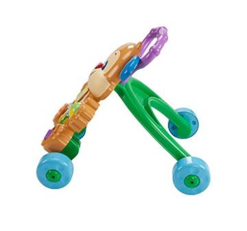 Fisher-Price FRC83 - Lernspaß Hündchens Lauflernwagen und Baby Lauflernhilfe mit mitwachsenden Spielstufen, Liedern und Sätze, Gehhilfe ab 6 Monaten, deutschsprachig - 5