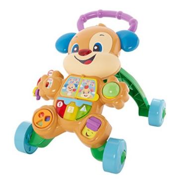 Fisher-Price FRC83 - Lernspaß Hündchens Lauflernwagen und Baby Lauflernhilfe mit mitwachsenden Spielstufen, Liedern und Sätze, Gehhilfe ab 6 Monaten, deutschsprachig - 7