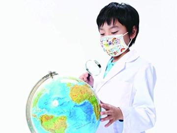 Gima - Gisafe Filtrierende Chirurgische Maske BFE > 98%, zum Einmalgebrauch, 3 Lagen, Typ IIR, für Kinder, Cartoonmuster, MP der Klasse I, CE-Kennzeichnung, Flowpack mit 10 Stücken - 5