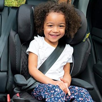 Graco Affix Kindersitz 15-36 kg, Autokindersitz ab 4 bis 12 Jahren, Gruppe 2/3, Konnektoren zur Fixierung am Isofix-System des Autos, mitwachsend, Seitenaufprallschutz, Getränkehalter, Stargazer - 6