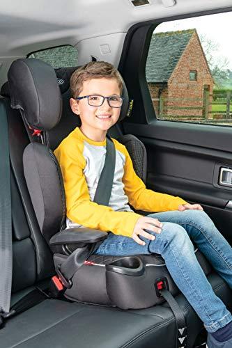 Graco Affix Kindersitz 15-36 kg, Autokindersitz ab 4 bis 12 Jahren, Gruppe 2/3, Konnektoren zur Fixierung am Isofix-System des Autos, mitwachsend, Seitenaufprallschutz, Getränkehalter, Stargazer - 7