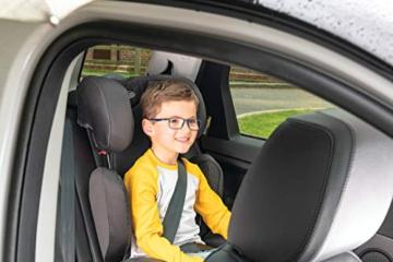 Graco Affix Kindersitz 15-36 kg, Autokindersitz ab 4 bis 12 Jahren, Gruppe 2/3, Konnektoren zur Fixierung am Isofix-System des Autos, mitwachsend, Seitenaufprallschutz, Getränkehalter, Stargazer - 9