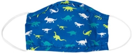 Little Blue House By Hatley Unisex-Kinder Double Layer Face Mask with Ear Elastic Mode-Schal, Dinosaur Menagerie, Einheitsgröße - 1