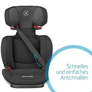 Maxi-Cosi Cosi RodiFix AirProtect (AP) Kindersitz Gruppe 2/3, ISOFIX-Sitzerh?hung, optimaler Seitenaufprallschutz, 3,5 - 12 Jahre, 15 - 36 kg, (schwarz) Authentic Black, 8824671110 - 3