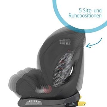 Maxi- Cosi Titan, mitwachsender Kindersitz mit ISOFIX und Ruheposition, Gruppe 1/2/3 Autositz (9-36 kg), nutzbar ab ca. 9 Monate bis ca. 12 Jahre, basic black - 2