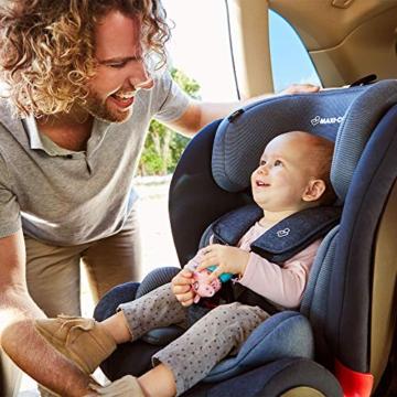 Maxi- Cosi Titan, mitwachsender Kindersitz mit ISOFIX und Ruheposition, Gruppe 1/2/3 Autositz (9-36 kg), nutzbar ab ca. 9 Monate bis ca. 12 Jahre, basic black - 5