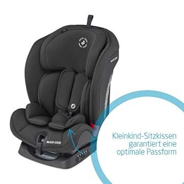 Maxi- Cosi Titan, mitwachsender Kindersitz mit ISOFIX und Ruheposition, Gruppe 1/2/3 Autositz (9-36 kg), nutzbar ab ca. 9 Monate bis ca. 12 Jahre, basic black - 7