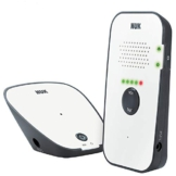 NUK Eco Control 500 Digitales Audio Babyphone, frei von hochfrequenter Strahlung im Eco-Mode, Gegensprechfunktion, weiß - 1