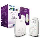 Philips Avent Audio-Babyphone SCD713/26, DECT-Technologie, Eco-Mode, 18 Std. Laufzeit, Gegensprechfunktion, Schlaflieder - 1