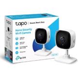 TP-Link Tapo C100 WLAN IP Kamera Überwachungskamera innen (1080p-Auflösung, 2 Wege Audio, 9m Nachtsicht , bis zu 128 GB lokaler Speicher auf SIM Karte,Tapo App, kompatibel mit Alexa, Google Assistant) - 1